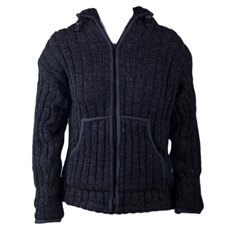 Womens Ribbed Wool Jacket-womens-clothing-Ula