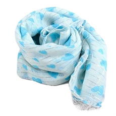 Heart Scarf- Square-scarves-Ula